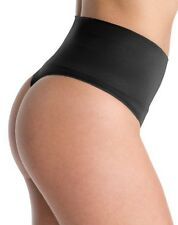 CLOSEOUT!! Spanx Everyday Shaping Thong - Style SS0815 Black Size Large
