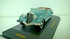 1/43 o ixo museum MUS038 1938 Salmson S4E - Metallic Green with Brown Interior