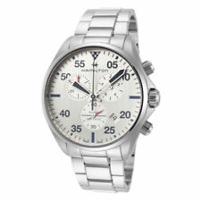 Hamilton Khaki Aviation Silver Men's Watch with Stainless Steel Band - H76712151