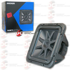 "KICKER SOLO-BARIC 12"" CAR AUDIO DUAL 4-OHM SUBWOOFER L7 SERIES 750 WATTS"