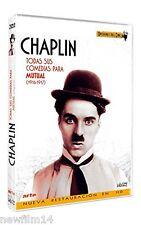 CHARLES CHAPLIN TODAS SUS COMEDIAS PARA MUTUAL DVD NUEVO ( SIN ABRIR ) 1916-1917