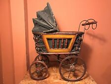 Victorian Doll Carriage From The Turn Of The Century