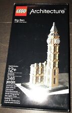 LEGO 21013 Architecture Big Ben London, England New Sealed Free Shipping!!