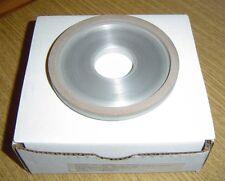 "New Inland D12A2 B2-4396-1500 Diamond Grinding Wheel 4"" x 1/4"" x 1-1/4"""