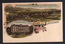 108745 AK Weigelsdorf Kr. Frankenstein Litho Schloss Panorama um 1900