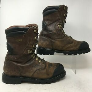 Irish Setter Gore-tex XL Series Hunting Boot Men 11.5 D Brown Leather Thinsulate