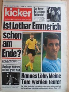KICKER 15 - 8.4. 1968 Nürnberg-Köln 2:1 SG Leutershausen Union 03 Gianni Rivera
