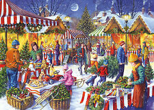Gibsons Christmas Fayre - Quality Jigsaw Puzzle (1000 Pieces) - Brand New Gibson