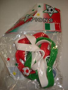 Sonderpreis ! Gummihandgelenk-Bänder Italien Fussball Fanartikel