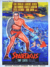 SPARTACUS - ORIGINAL FRENCH POSTER