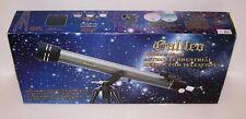 Galileo CC-2 700mm x 60mm Astro Terrestrial Refractor Telescope NIB