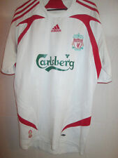 Liverpool 2007-2008 Away Football Shirt Size Small anfield road /13879