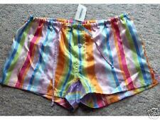 AEROPOSTALE Rainbow Stripe SLEEP SHORTS XXS NWT