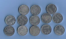 ESPAÑA: 13X1 peseta 1989-2001,13  fechas