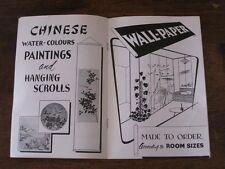 Arts and Handicrafts of Hong Kong China Malko General Agencies Vintage Booklet