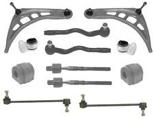 BMW E46 FRONT LOWER WISHBONE ARMS ANTI D BUSHES LINKS INNER OUTER TRACK ROD ENDS