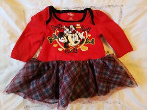 Disney Minnie Mouse 3-6 month dress