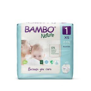 Pannolini Abena Bambo Nature mis. 1 - Confezione da 132 pezzi