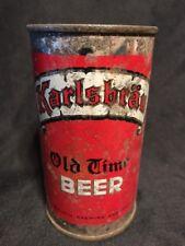Karlsbrau Old Time Flat Top Beer Can, Duluth, Mn