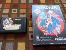 Wardner (Sega Genesis, 1991) Rare Game
