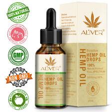 30ml Organic Hemp Seed Oil Herbal Drops Pain Relief Sleep Aid Oil Herbal Dropss