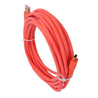 16FT Red Tether Cable- Camera Canon 5D Mark III II T6s T6i T5i T5 T4i 70D