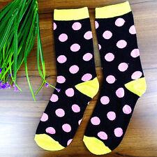 5Pair Socks Men's Casual Dress Socks Polka Dots Multi-Color Socks 20*20cm DWZ161