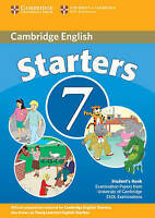 Cambridge Young Learners English Tests 7 Starters Student's Book: Examination Pa