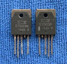 1pairs OR 2pcs STD03N-Y/STD03P-Y STD03NY/STD03PY STD03N/STD03P TO-3P-5