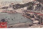 MARSEILLE 38bis la corniche (l'anse du prophète) barques timbrée 1907