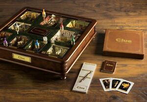 Winning Solutions Clue Luxury Edition Board Game 3 - 6 Players NEW