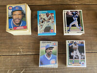 200+ 1987 1989 Topps Upper Deck Other Andre Dawson Chicago Cubs NM-MT+
