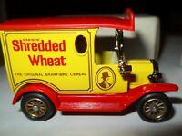 Lledo Promo Model  Ford Model A Shredded Wheat delivery van mint