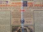 1916 RED CROSS 20 KRONEN K.u.K. AUSTRIA BOND CS STAMP  Böhmen Und Mähren