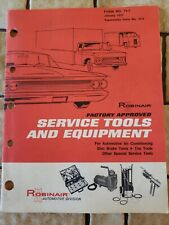 Vintage 1973 Robinair Automotive Service Tools and Equipment Sales Catalog