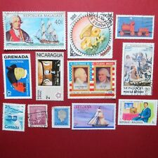 WORLD STAMPS, Assorted World Stamps..Used and Unused, in Very Nice Condition #9