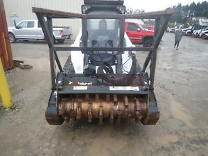 2017 BOBCAT FRC50 FORESTRY HEAD FOR SKID STEERS, HIGH FLOW 2 SPEED, QUICK ATTACH