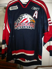 "2006-07 Ohl Chl Saginaw Spirit ""A"" Ryan Berard Signed Game Worn Hockey Jersey"