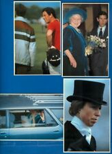 4 English Royalty - Queen Mother; Charles; Anne; William, Charles & Dianna 1982
