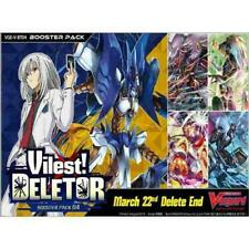 Cardfight Vanguard Vilest Deletor V Booster Box Sealed English CARD IN STOCK NOW