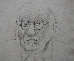 Georges MANZANA-PISSARRO (1871-1961) Pencil Drawing