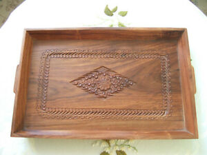wooden tray hand made brand new