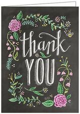 LILY AND VAL BLACKBOARD GREETING CARD: THANK YOU - NEW in CELLO