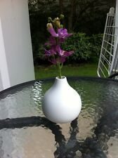 Modern Wood White Vase Handmade+ Track