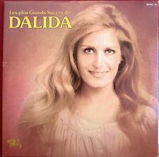 """DALIDA - DOUBLE LP """"LES PLUS GRANDS SUCCÈS"""""""