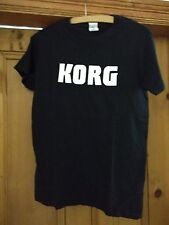 Korg Keyboards T shirt Men's Size Small black