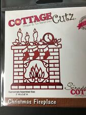 Cottage Cutz Christmas Fireplace(Elites) CCE-032 metal die