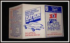 1978 KANSAS CITY ROYALS DATSUN BASEBALL POCKET SCHEDULE EX+NM FREE SHIPPING