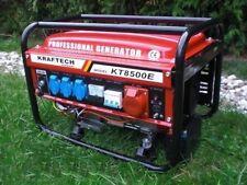 E-Start 4Takt Benzin 6500 Watt Stromerzeuger Generator 3x230V-1x400V-1x12V