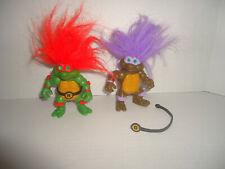 New Listing1992 Tmnt Teenage Mutant Ninja Turtles Troll Lot Of 2 Donatello & Raphael